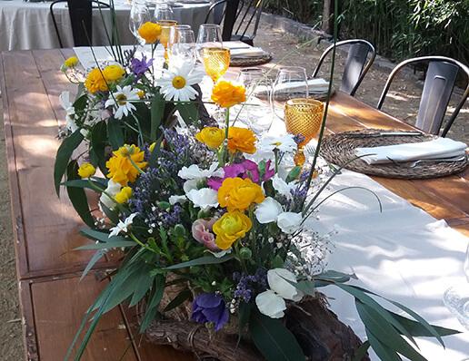 Corones, centres de flors i decoració floral